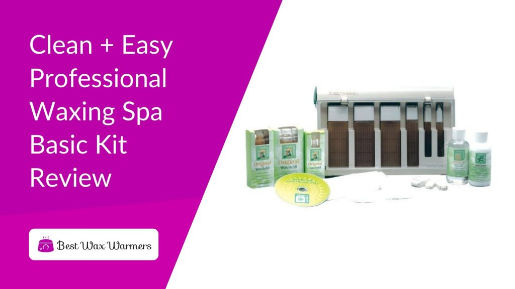 Clean + Easy Professional Waxing Spa Basic Kit Review