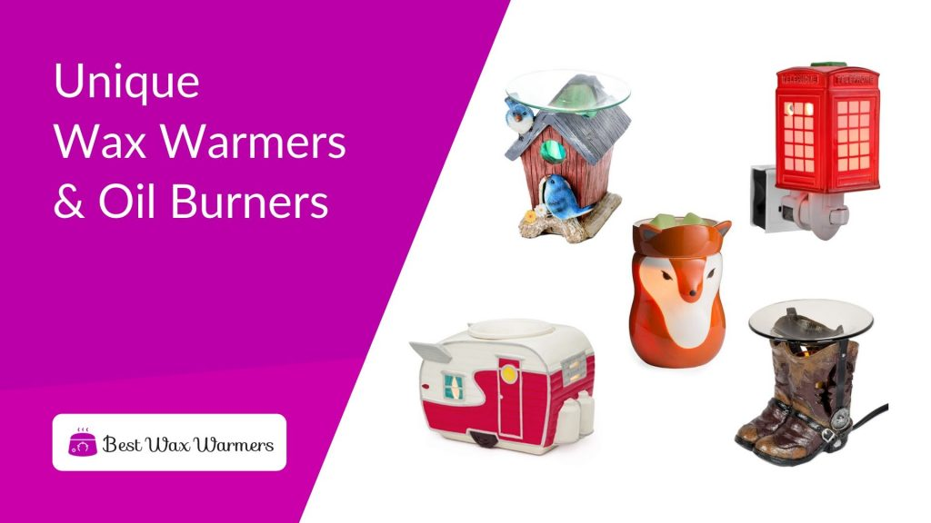 Best Unique Scented Wax Warmers And Oil Burners