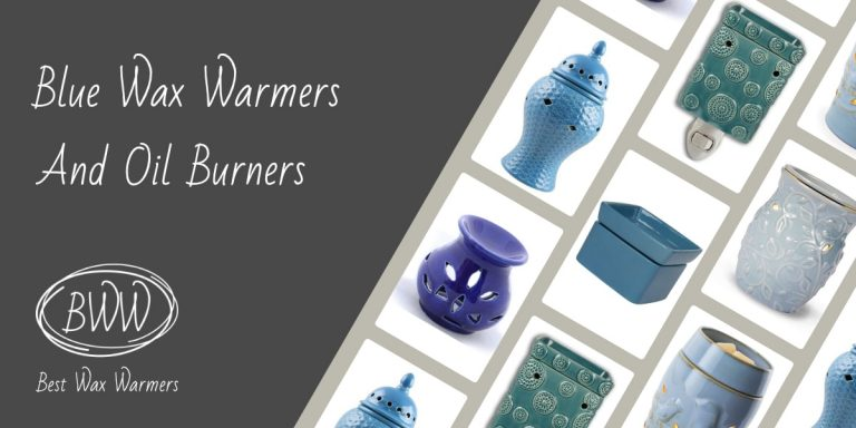 Blue Scented Wax Warmers And Oil Burners