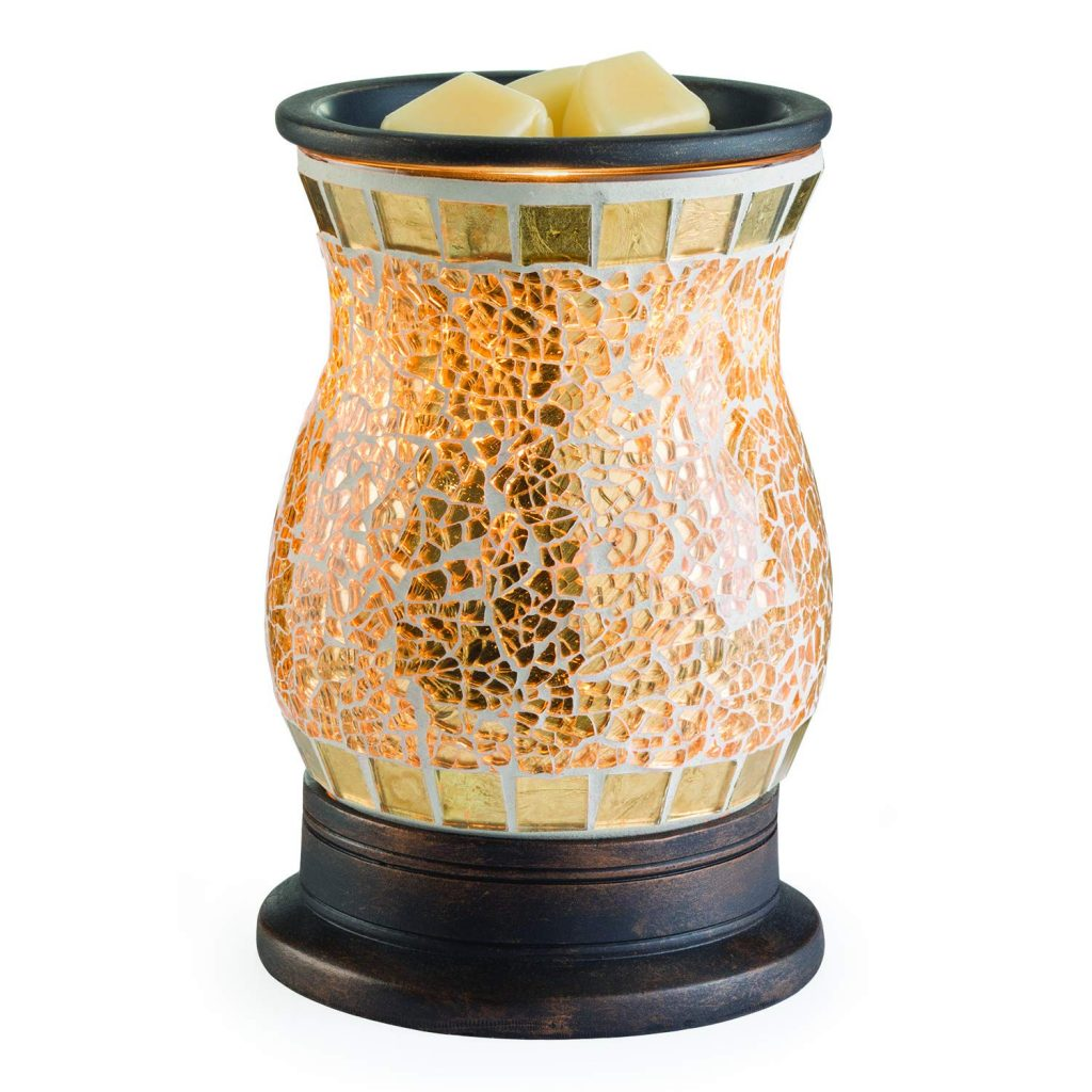 Candle Warmers Etc Illumination Fragrance Wax Warmer - Gilded Glass