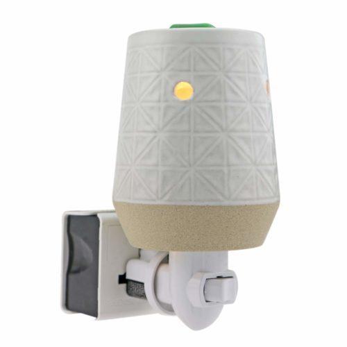 STARMOON Pluggable Fragrance Wax Warmer - Checkered