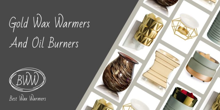 Gold Scented Wax Warmers And Oil Burners
