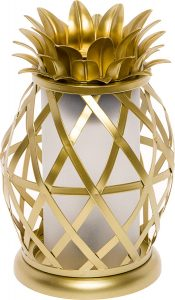 Mindful Designs - Golden Pineapple Electric Wax Warmer - Tropical Home Fragrance Wax Burner