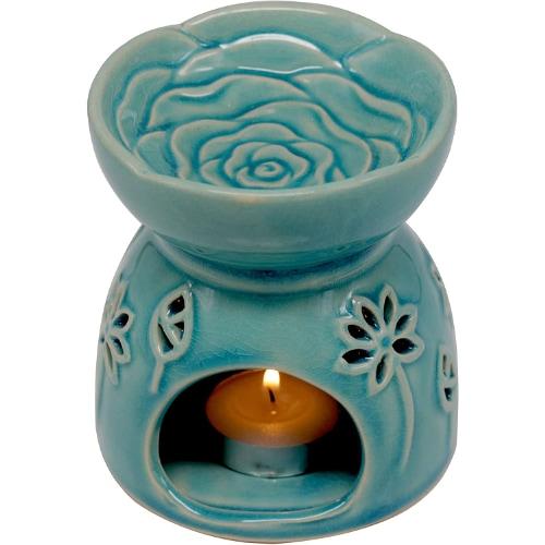 Deliway Ceramic Lotus Tea Light Wax Melt Warmer