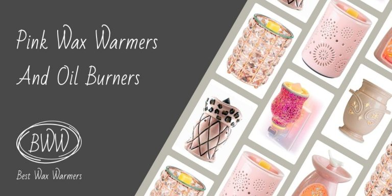 Pink Scented Wax Warmers And Oil Burners