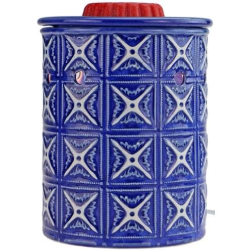 STAR MOON Retro Blue Kaleidoscope Electric Wax Melt Warmer